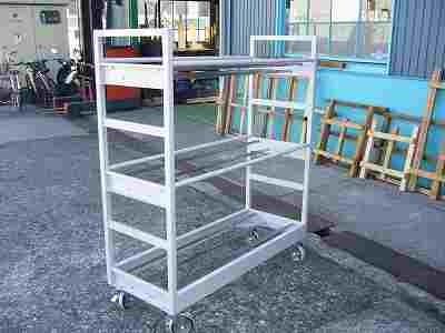 移動式ホース収納庫