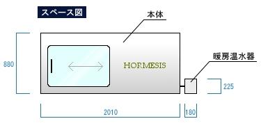 ホルミシススペース図